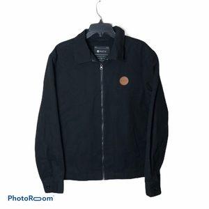 Matix Denim Full Zip Jacket NWT Medium Black